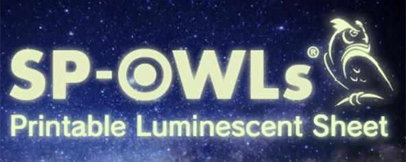 Printable Luminescent Sheet SP-OWL s